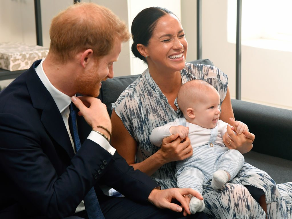 Prince Harry, Meghan Markle, and Archie Mountbatten-Windsor