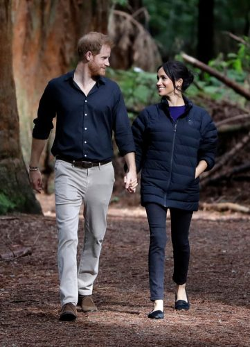 Prince Harry and Meghan Markle in New Zealand, 2018