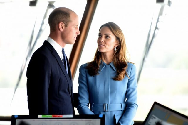 Prince William and Kate Middleton Hold a Secret Meeting at Kensington Palace