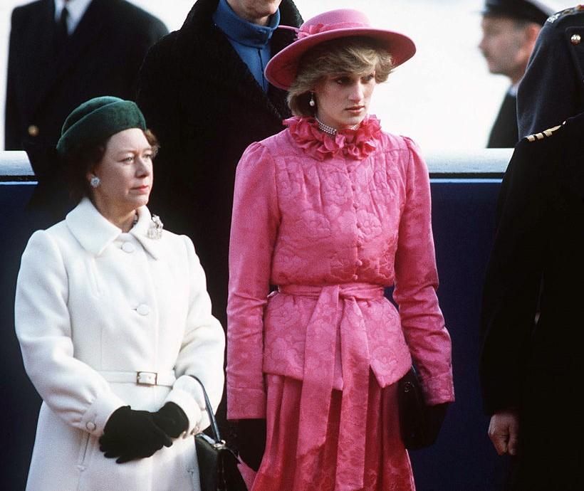 Princess Margaret, Sarah Ferguson, and Princess Diana