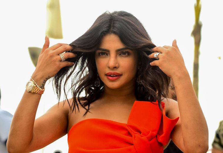 Priyanka Chopra on the red carpet