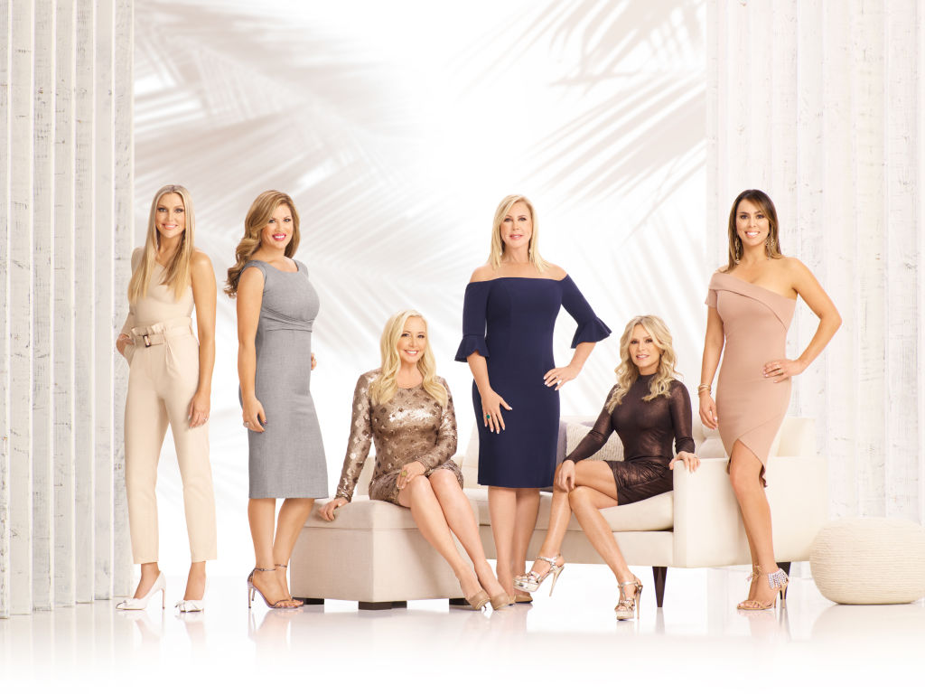The cast of The Real Housewives of Orange County