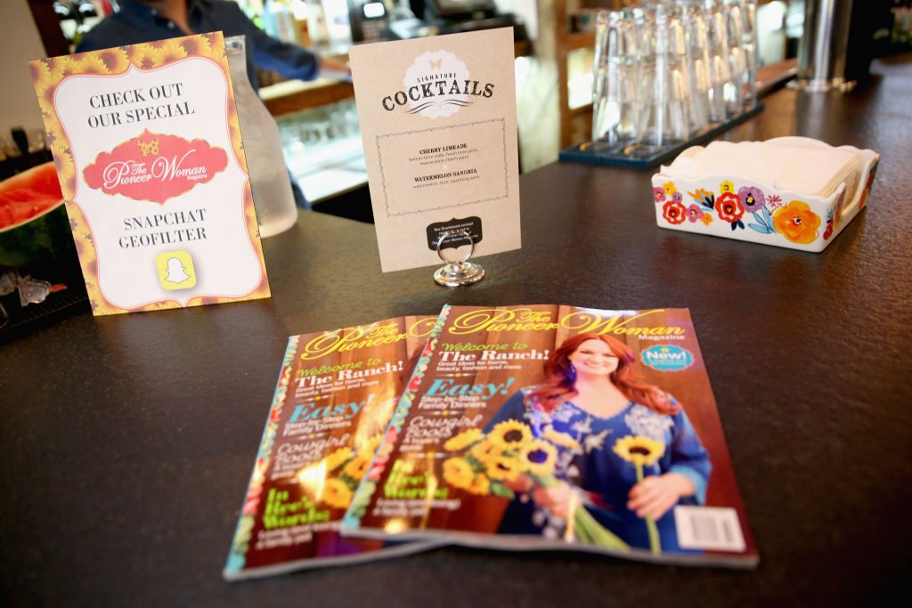 Ree Drummond's Pioneer Woman magazine | Monica Schipper/Getty Images for The Pioneer Woman Magazine
