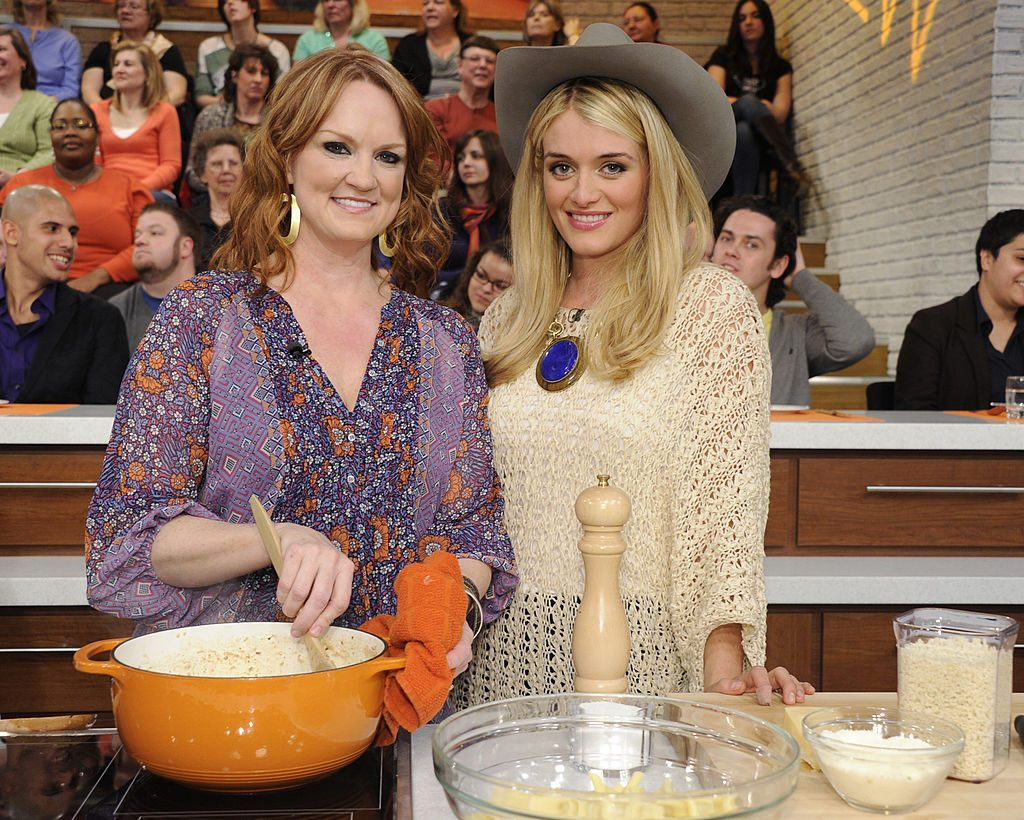Ree Drummond with Daphne Oz on The Chew |  Ida Mae Astute/Walt Disney Television via Getty Images