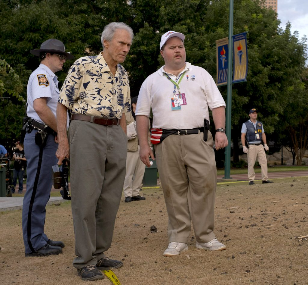 Richard Jewell - Paul Walter Hauser and Clint Eastwood