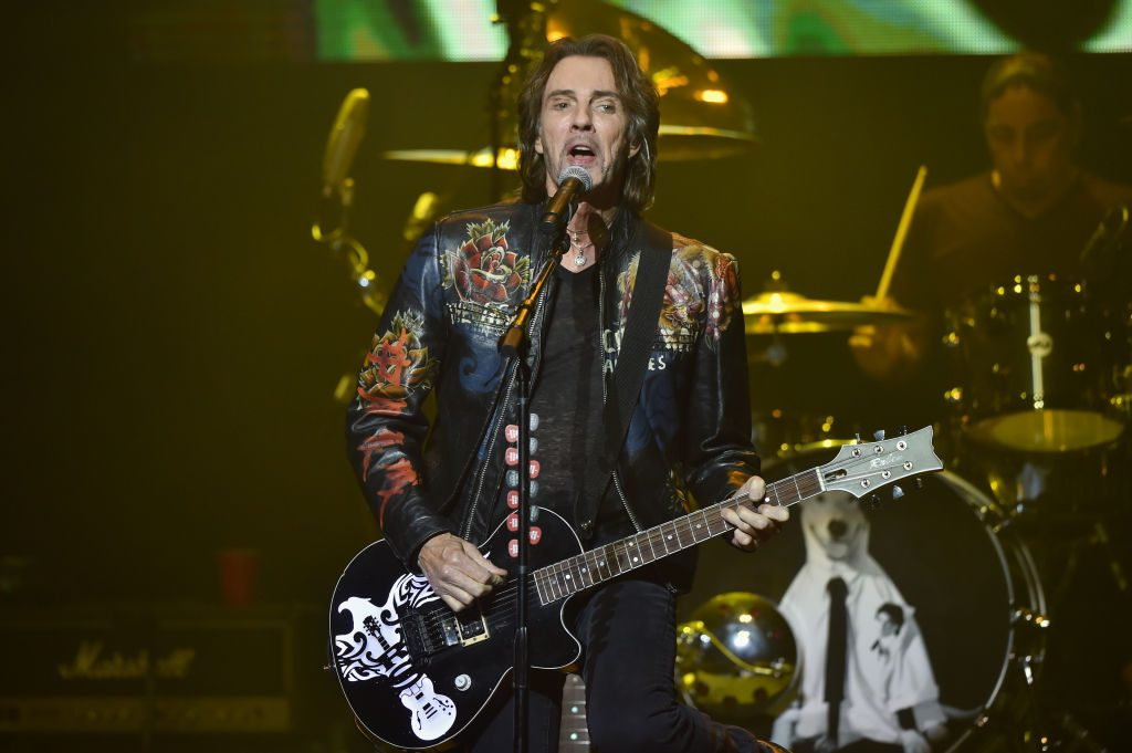 Rick Springfield performs on stage at The Soundboard, Motor City Casino on May 23, 2019 in Detroit, Michigan.