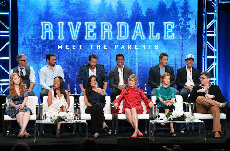 The Riverdale cast onstage
