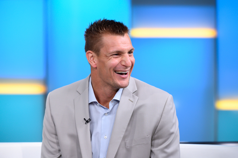 Rob Gronkowski on Fox and Friends