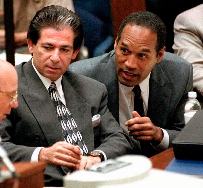Robert Kardashian and O.J. Simpson