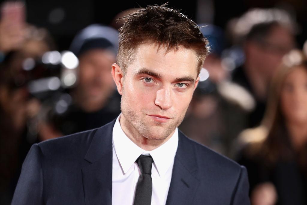Robert Pattinson on the red carpet at TIFF.
