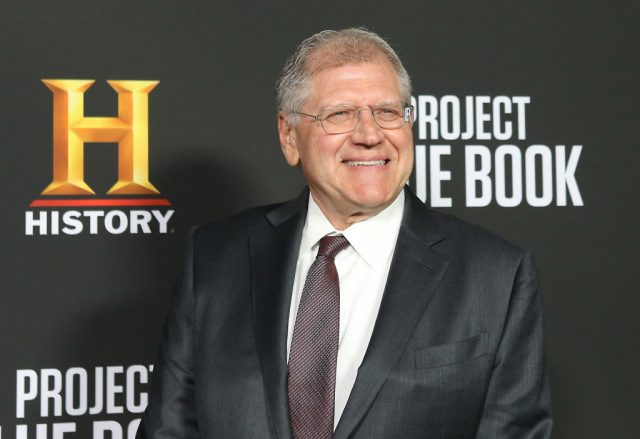 Robert Zemeckis on the red carpet