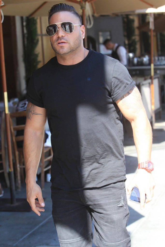Ronnie Ortiz-Magro is seen on October 3, 2019 in Los Angeles