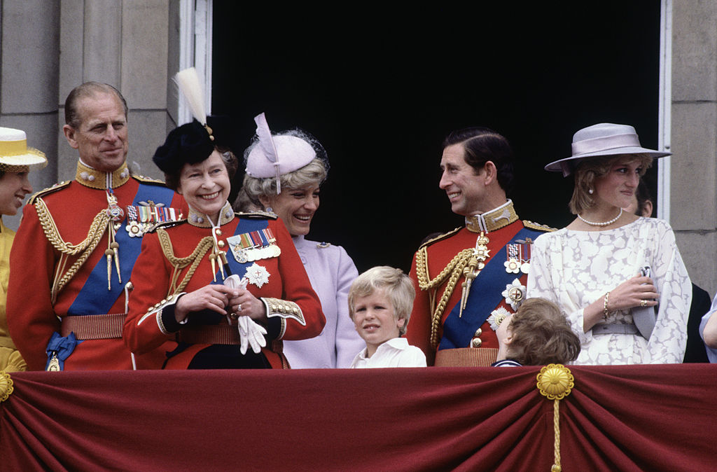 The royal family in 1992