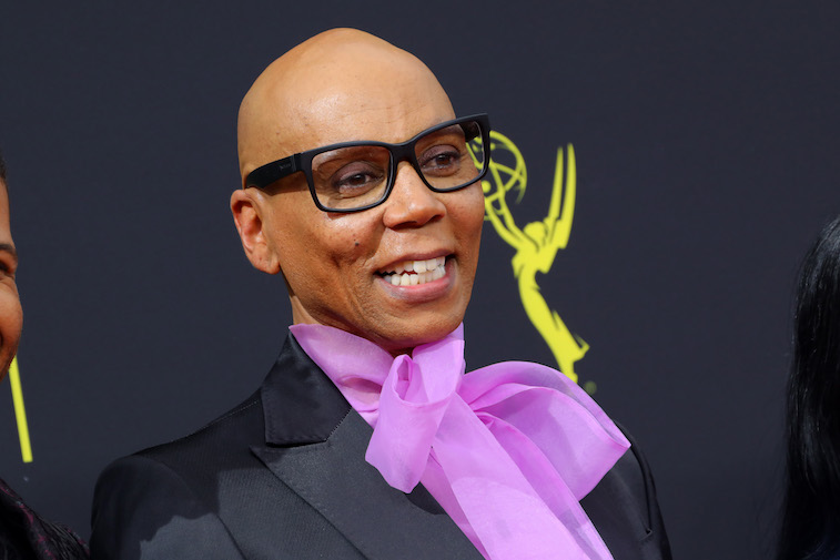 RuPaul on the red carpet