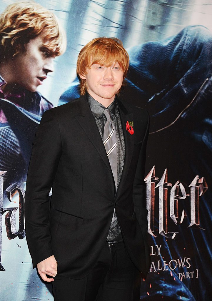Rupert Grint (Ron Weasley) of Harry Potter