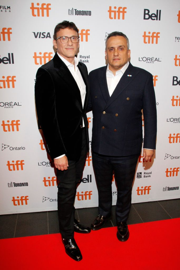 """Anthony Russo and Joe Russo attend the """"Mosul"""" premiere held at TIFF Bell Lightbox"""
