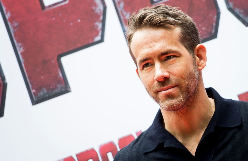 Actor Ryan .Reynolds
