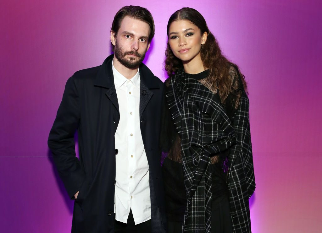 Sam Levinson, Zendaya at Euphoria screening