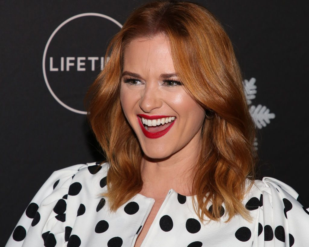 "Sarah Drew at ""It's A Wonderful Lifetime"" Holiday Party"