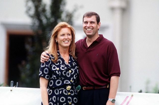 Sarah Ferguson and Prince Andrew in 1995