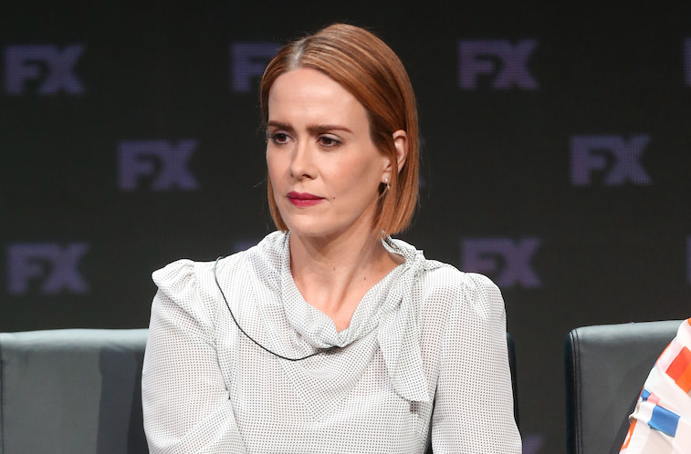 Sarah Paulson interviewed about American Horror Story