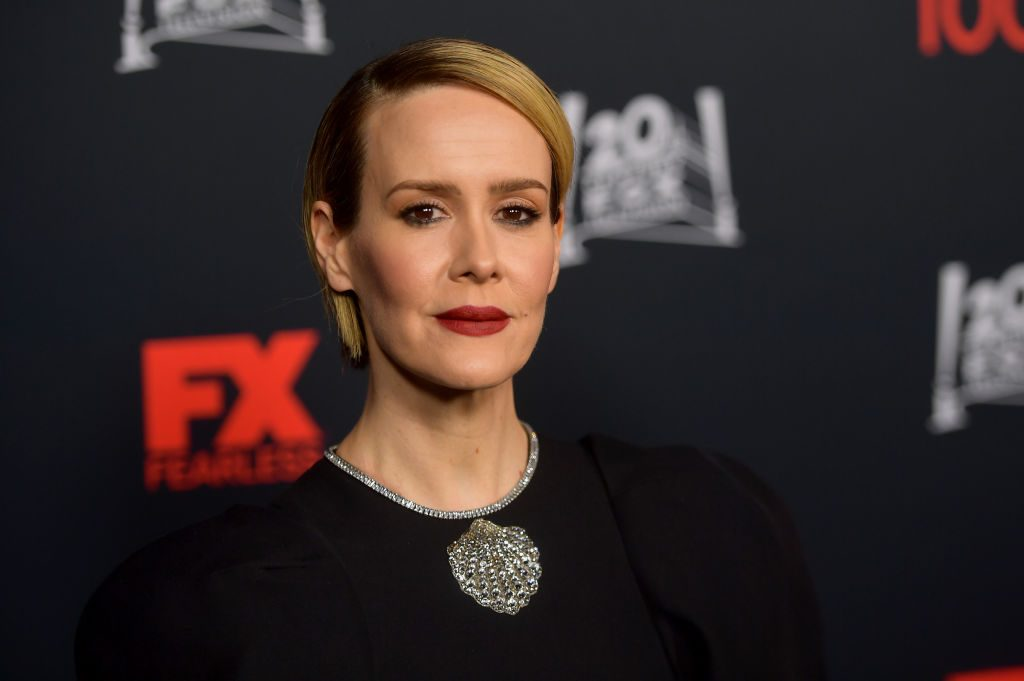 """Sarah Paulson at FX's """"American Horror Story"""" 100th Episode Celebration"""