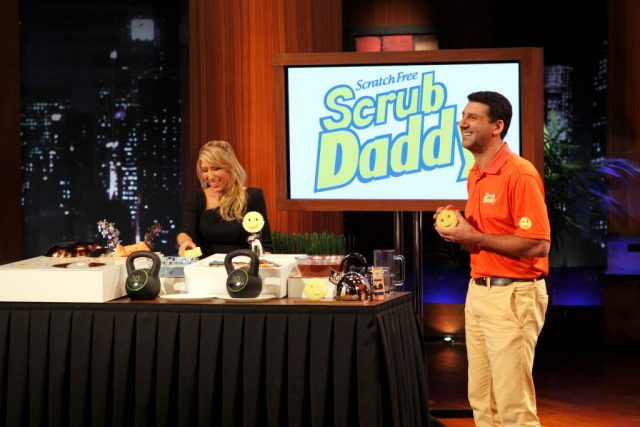 Lori Greiner and Aaron Krause of Scrub Daddy