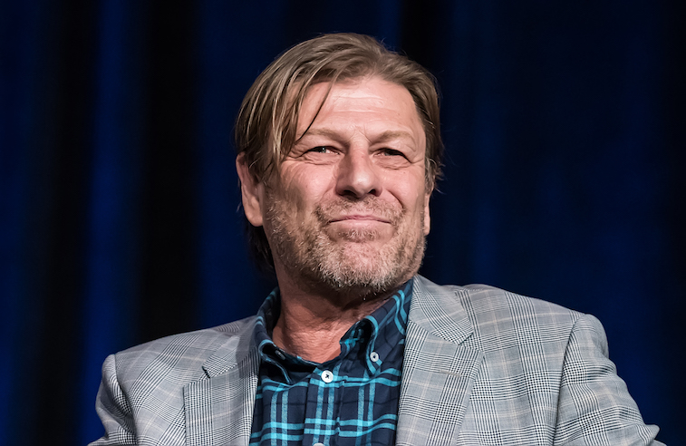 Sean Bean onstage