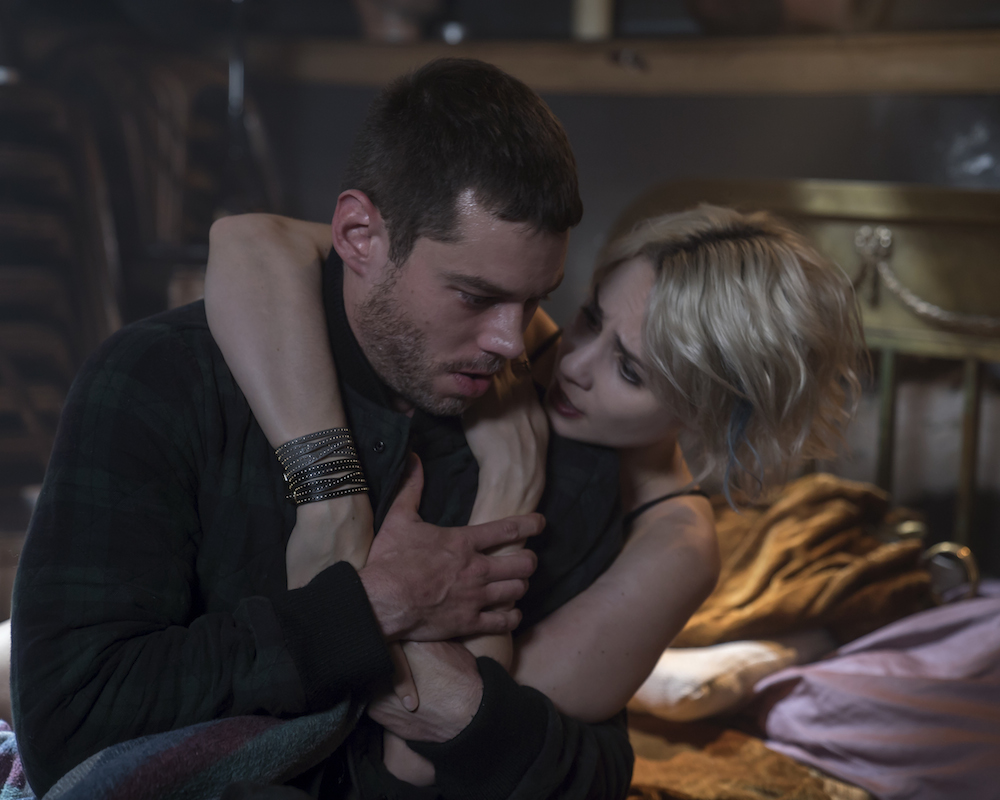 Sense8 stars Brian J. Smith and Tuppence Middleton
