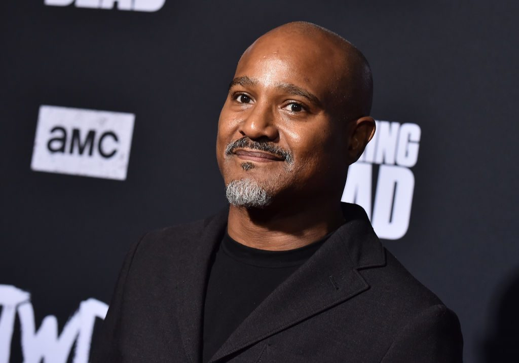 'The Walking Dead' actor Seth Gilliam smiles