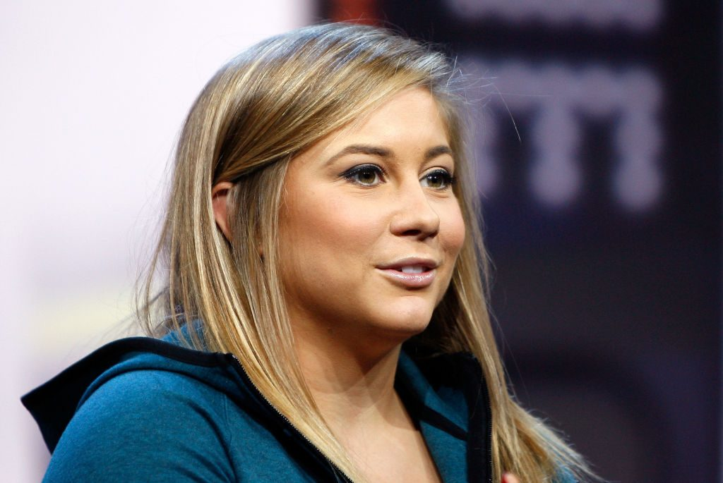 Olympic athlete Shawn Johnson at the NikeFuel Forum