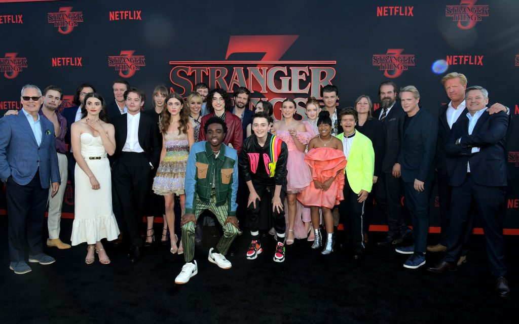 Stranger Things cast and crew | Charley Gallay/Getty Images for Netflix
