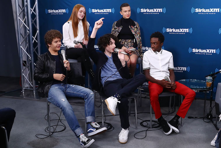 The cast of Stranger Things talks with Entertainment Weekly