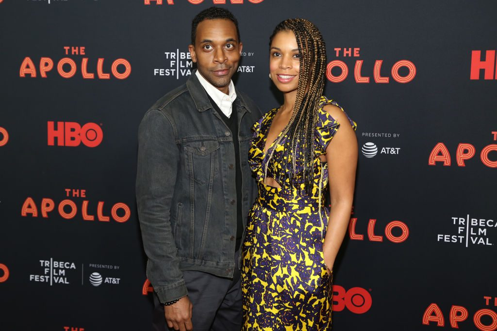 Susan Kelechi Watson and Jaime Lincoln Smith on the red carpet