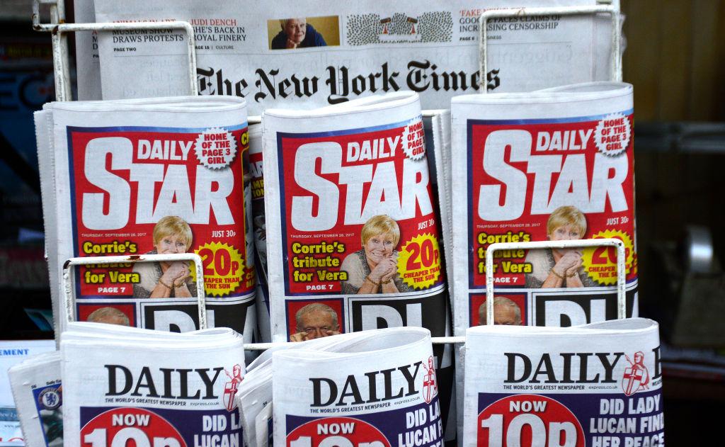 UK tabloids