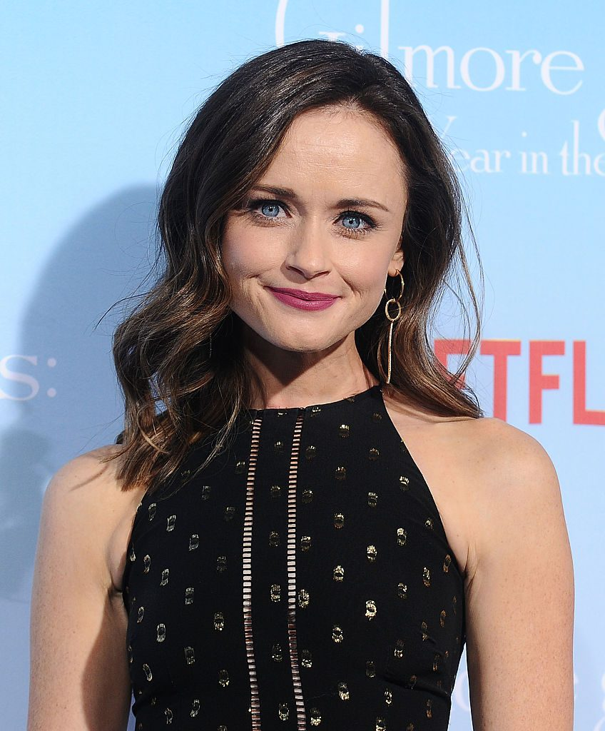 """Actress Alexis Bledel attends the premiere of """"Gilmore Girls: A Year in the Life"""" at Regency Bruin Theatre"""