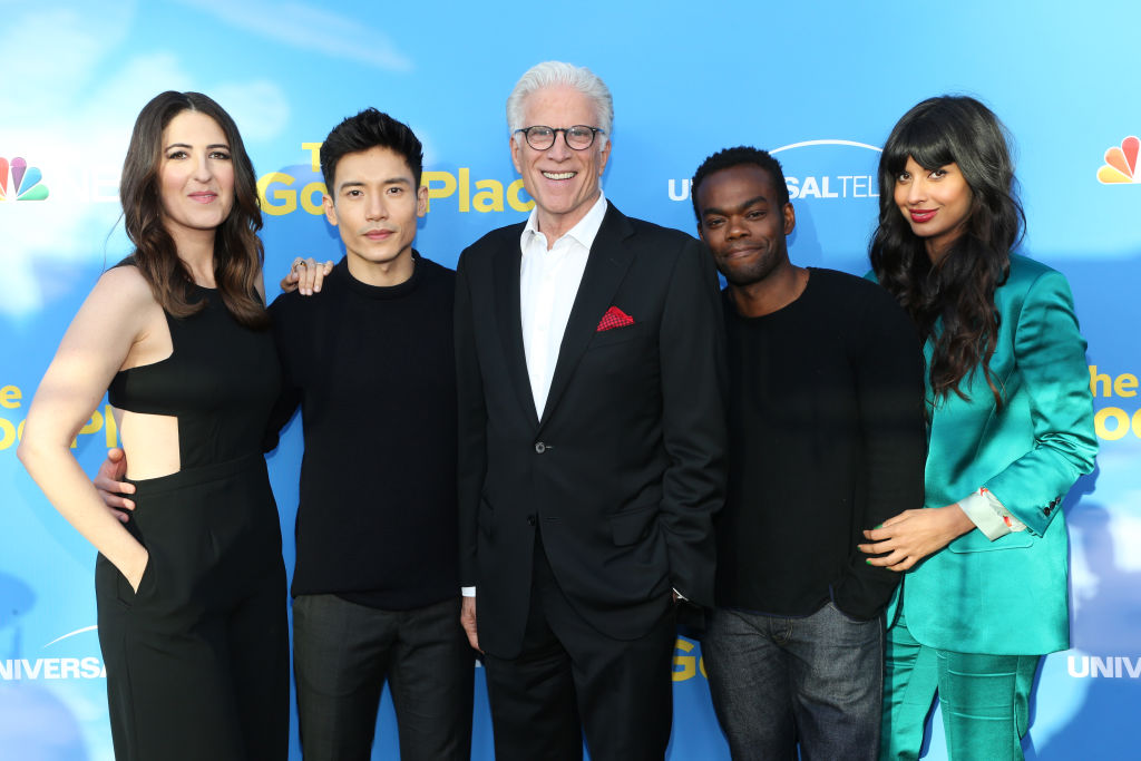 The Good Place Michael Janet