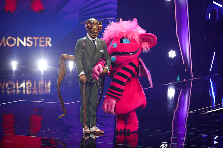 The Masked Singer contestants onstage