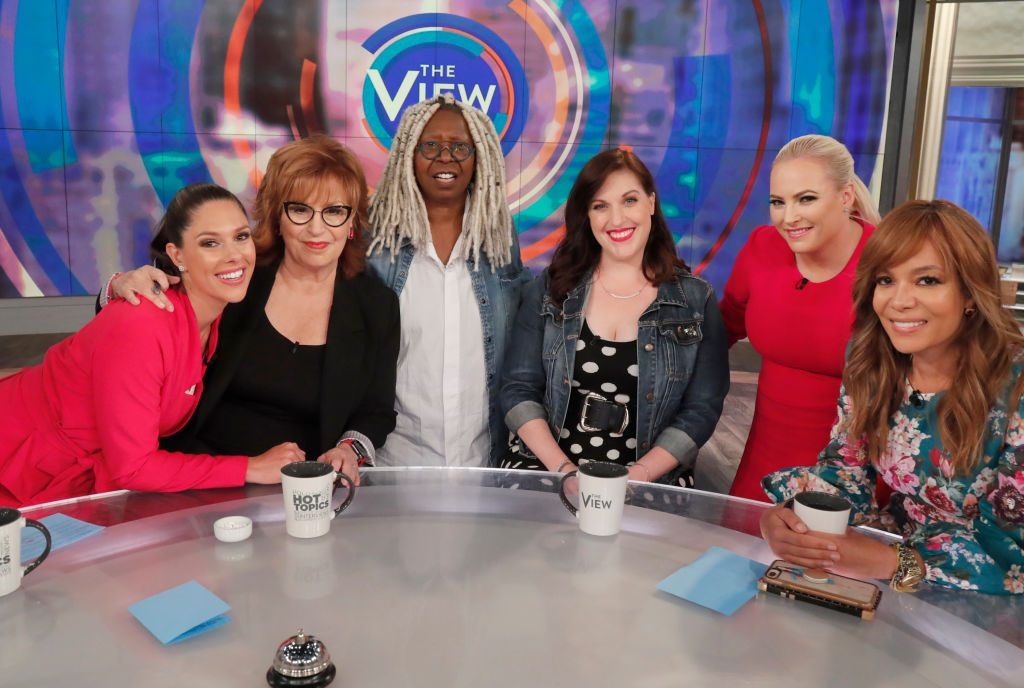 Abby Huntsman, Joy Behar, Whoopi Goldberg, Allison Tolman, Meghan McCain, Sunny Hostin on 'The View'