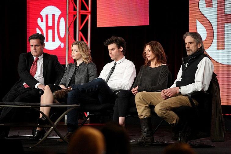 The cast of 'The Borgias'