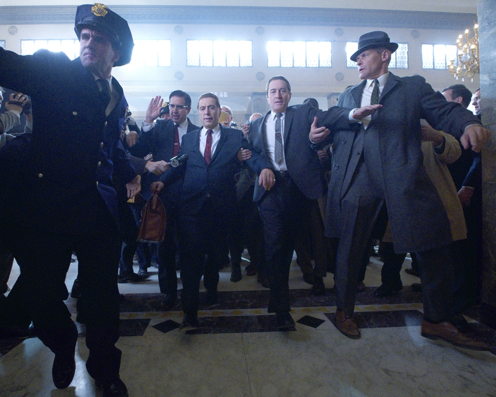 The Irishman: Al Pacino and Robert De Niro