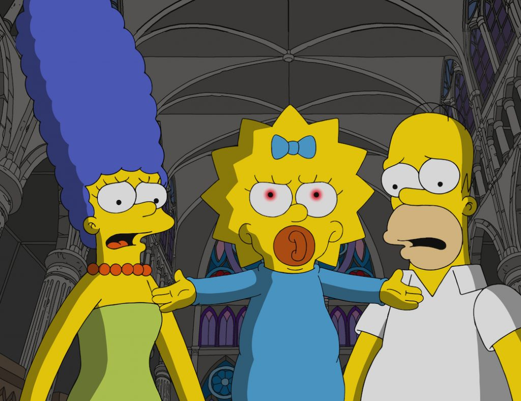 "The Simpsons ""Treehouse of Horror XXX"" Episode 666"