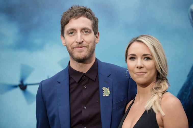 Thomas Middleditch on the red carpet