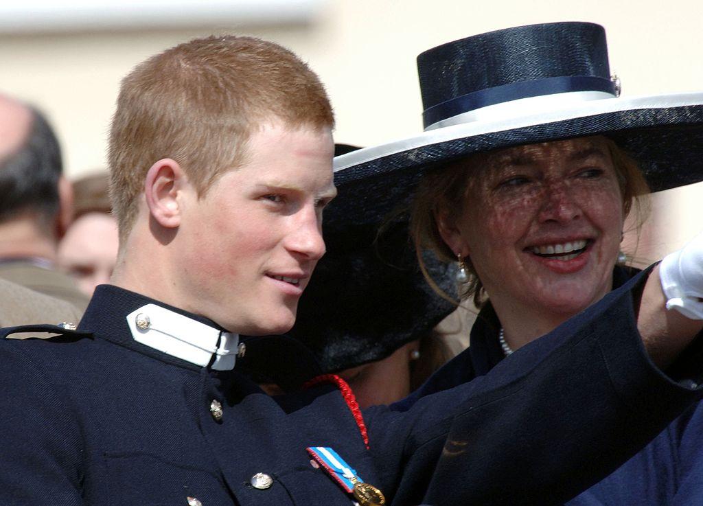 Tiggy and Prince Harry