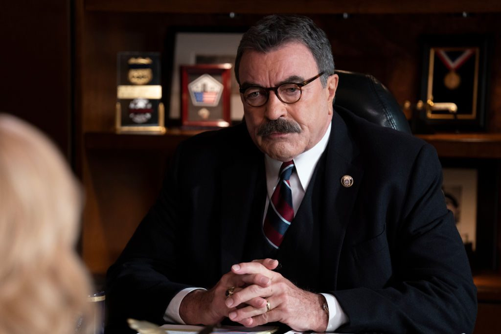 Tom Selleck on Blue Bloods | Patrick Harbron/CBS via Getty Images