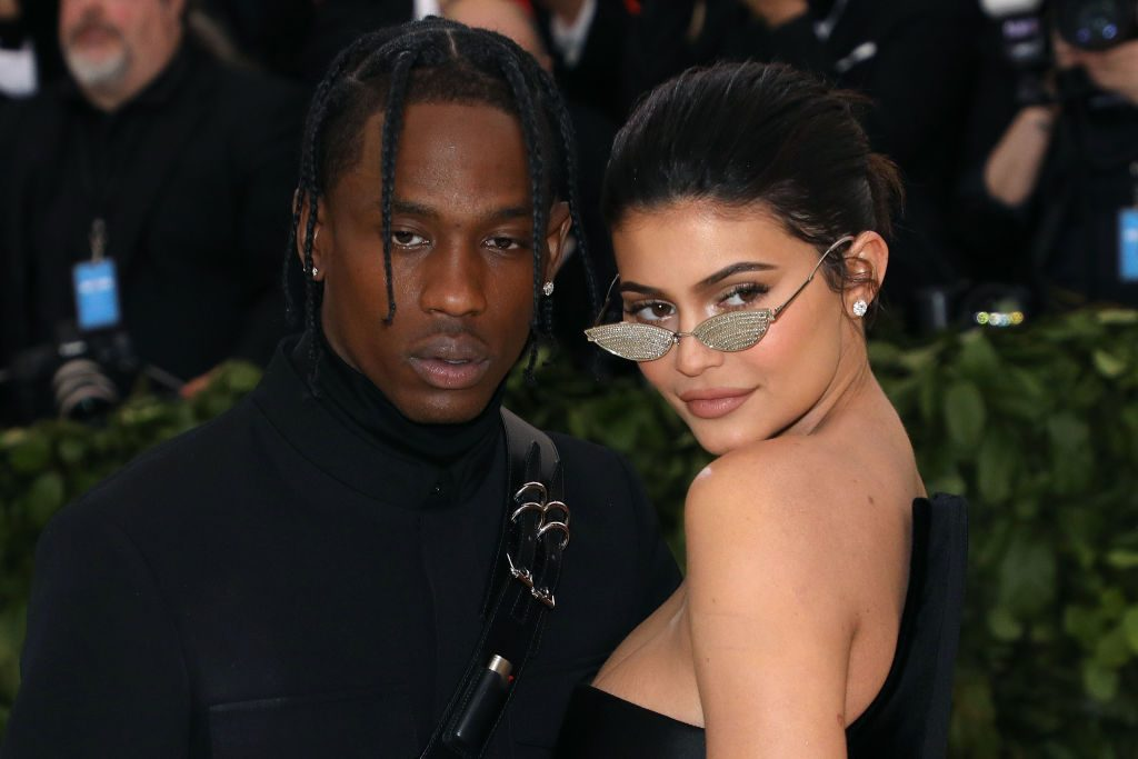 Travis Scott and Kylie Jenner at the Met Gala