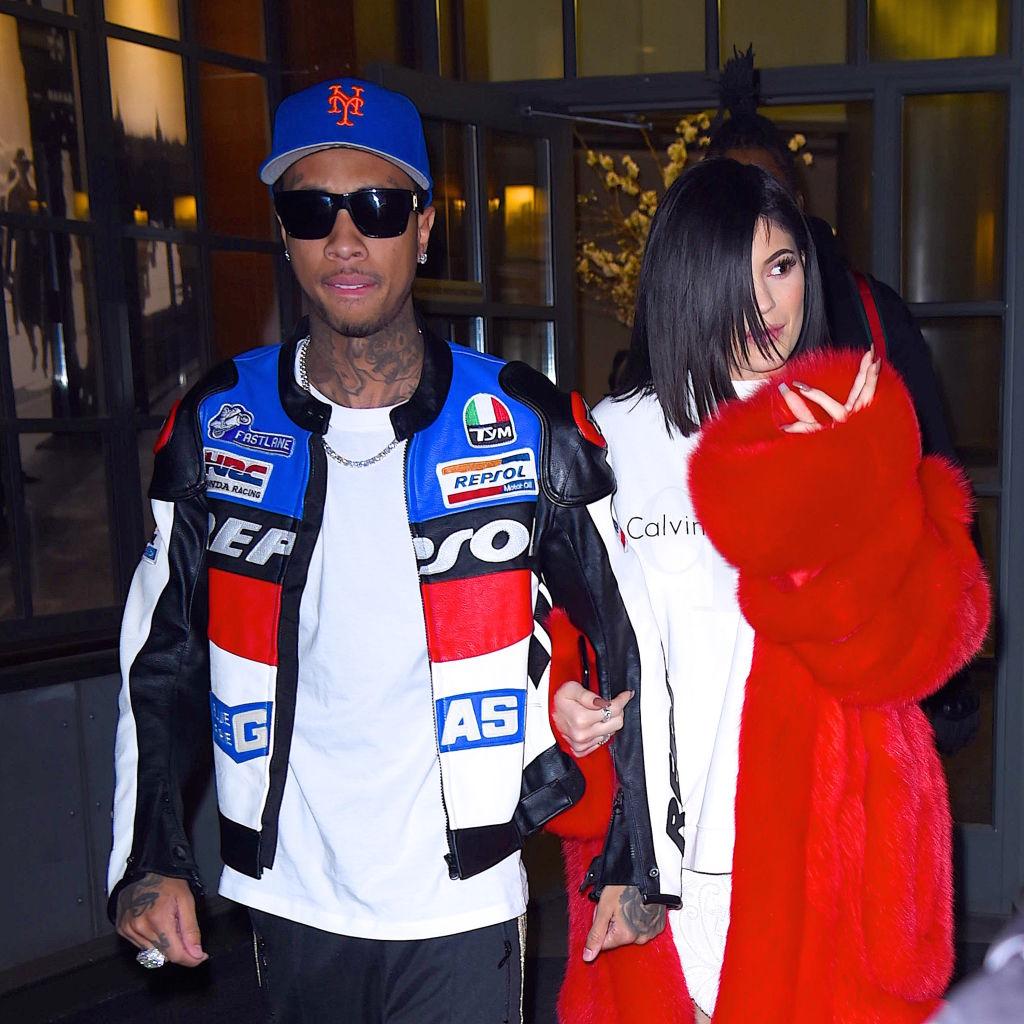 Tyga and Kylie Jenner
