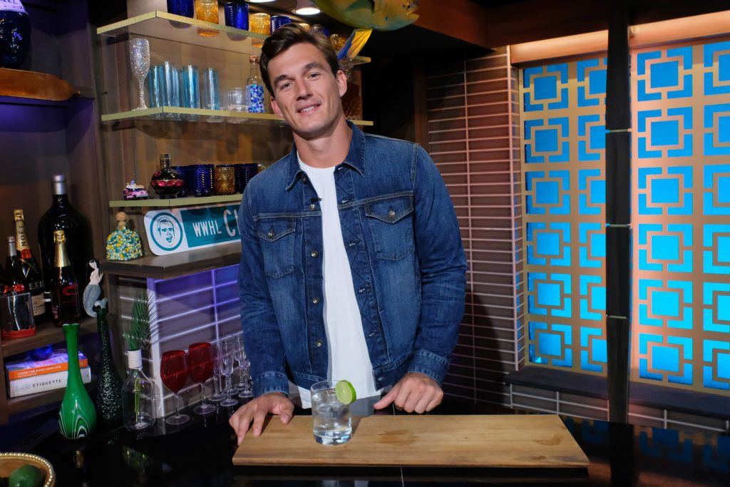 Tyler Cameron from 'The Bachelorette' at Watch What Happens Live With Andy Cohen - Season 16