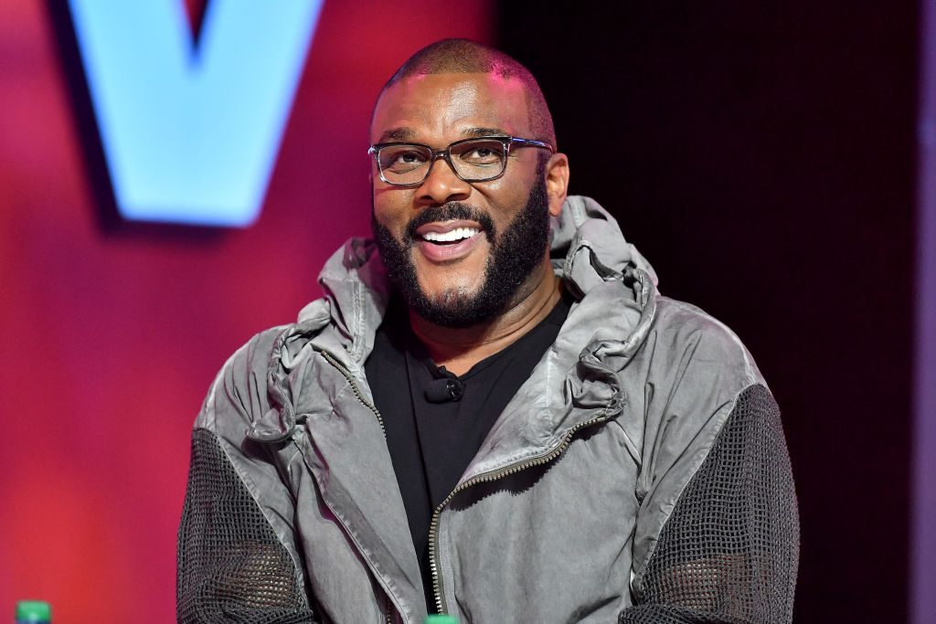 Tyler Perry at a festival