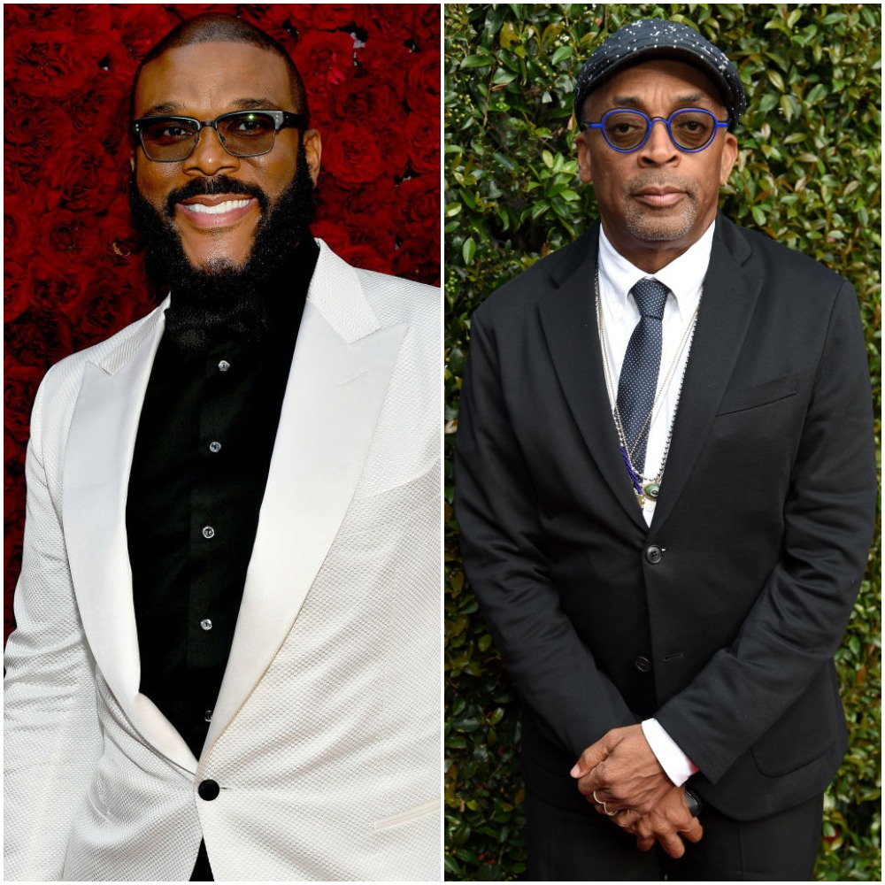 Tyler Perry and Spike Lee